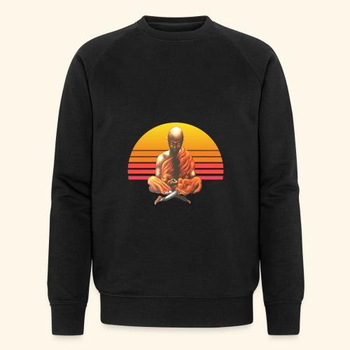 Buddha Yoga Meditation Retro Spiritueller Mönch - Männer Bio-Sweatshirt von Stanley & Stella