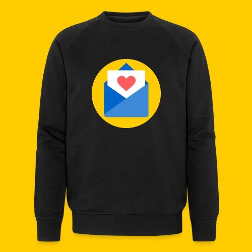 Liebesbrief-transparent - Männer Bio-Sweatshirt von Stanley & Stella