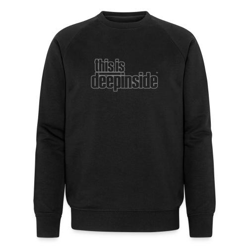 This is DEEPINSIDE logo gray - Men's Organic Sweatshirt by Stanley & Stella