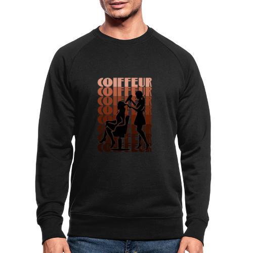 Coiffeur - Männer Bio-Sweatshirt