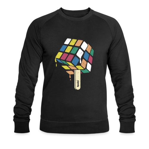 Rubik's Cube Ice Lolly - Men's Organic Sweatshirt by Stanley & Stella