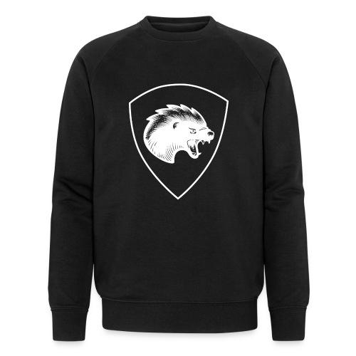 Pionjärpluton LL (logo och båge) - Ekologisk sweatshirt herr