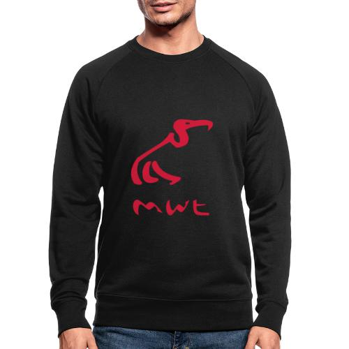 mwt avec nom - Männer Bio-Sweatshirt