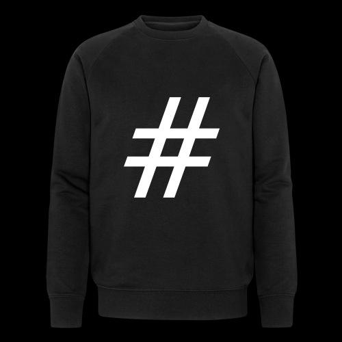 Hashtag Team - Männer Bio-Sweatshirt von Stanley & Stella