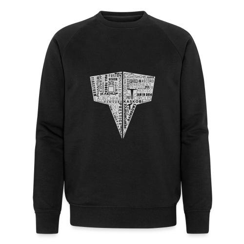 Word Logo // Kaskobi - Men's Organic Sweatshirt by Stanley & Stella