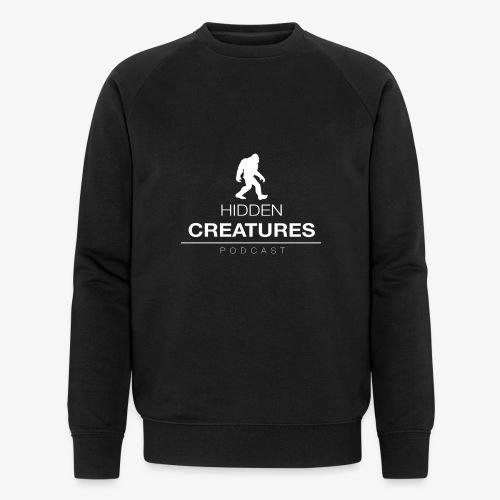 Hidden Creatures Logo White - Men's Organic Sweatshirt by Stanley & Stella