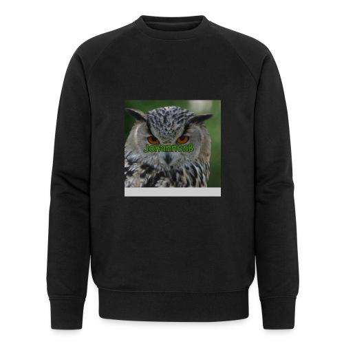 JohannesB lue - Økologisk sweatshirt for menn