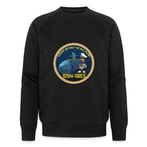 Command Badge SSN-1983 - Men's Organic Sweatshirt by Stanley & Stella
