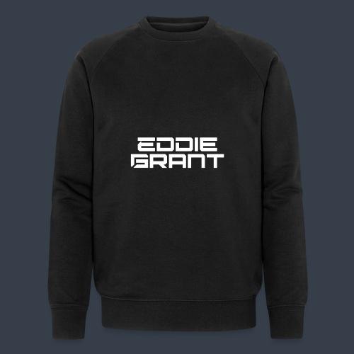 Eddie Grant White Logo - Mannen bio sweatshirt van Stanley & Stella
