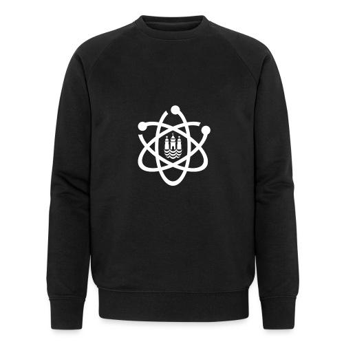 March for Science København logo - Men's Organic Sweatshirt by Stanley & Stella