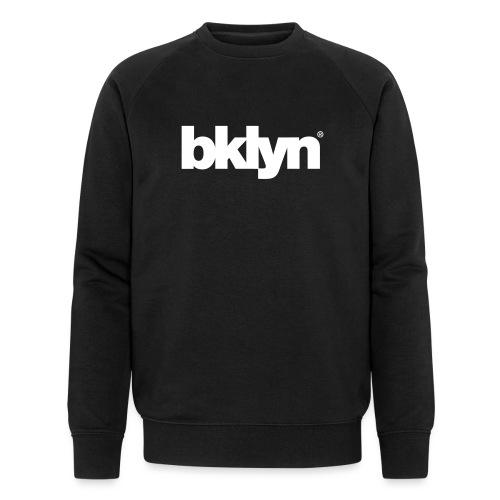 bklyn black / white - Men's Organic Sweatshirt