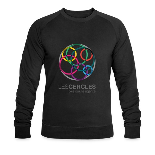LESCERCLES Logo Colour - Men's Organic Sweatshirt by Stanley & Stella