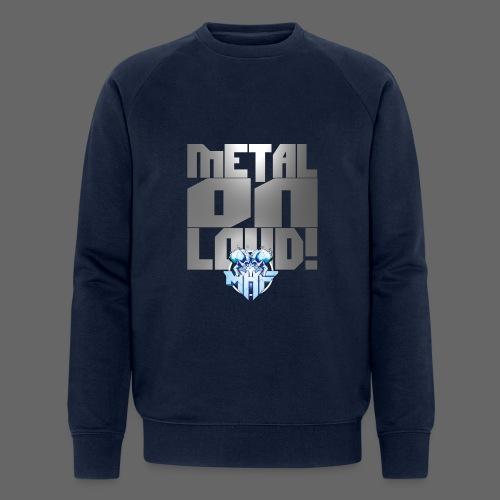 metalonloud large 4k png - Men's Organic Sweatshirt by Stanley & Stella