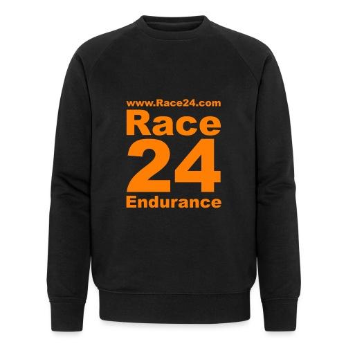 Race24 Logo in Orange - Men's Organic Sweatshirt by Stanley & Stella
