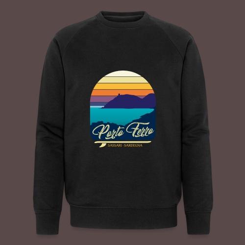 Porto Ferro - Vintage travel sunset - Felpa ecologica da uomo di Stanley & Stella