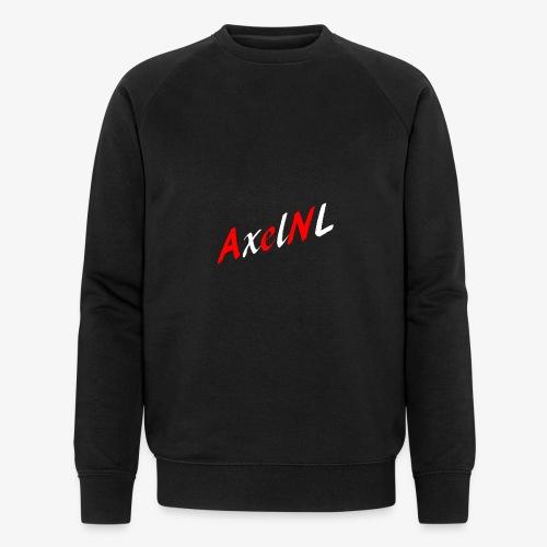 AxelNL - ROOD - Mannen bio sweatshirt