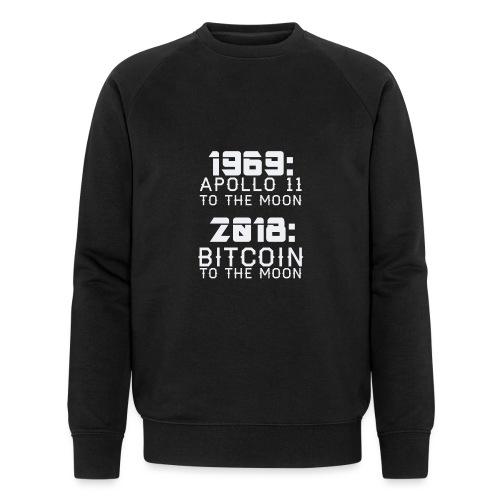 2018 Bitcoin to the Moon - Männer Bio-Sweatshirt von Stanley & Stella