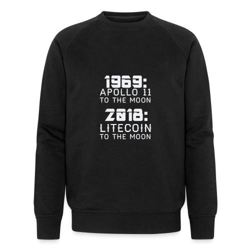 2018 Litecoin to the Moon - Männer Bio-Sweatshirt von Stanley & Stella