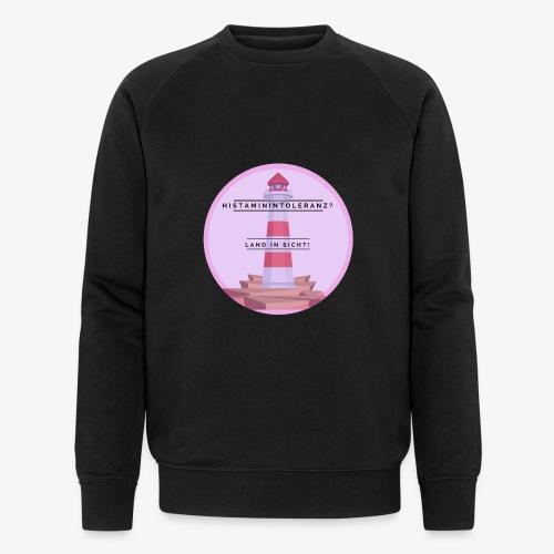 Histaminintoleranz – Land in Sicht - Männer Bio-Sweatshirt