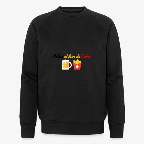 Belge et fier de l'être - Sweat-shirt bio Stanley & Stella Homme