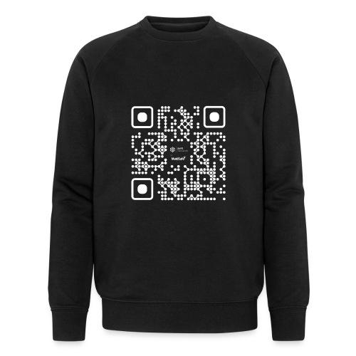 QR - Maidsafe.net White - Men's Organic Sweatshirt