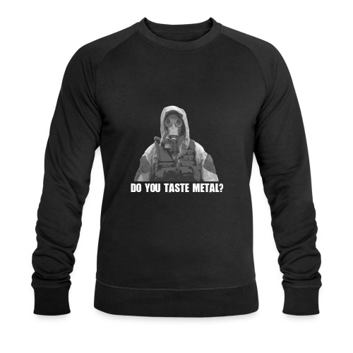 Do you taste Metal? - Männer Bio-Sweatshirt von Stanley & Stella