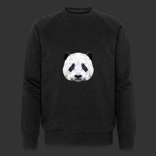 Panda Low Poly - Sweat-shirt bio Stanley & Stella Homme