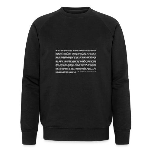 Motivation und Inspiration - T-Shirt - Männer Bio-Sweatshirt von Stanley & Stella