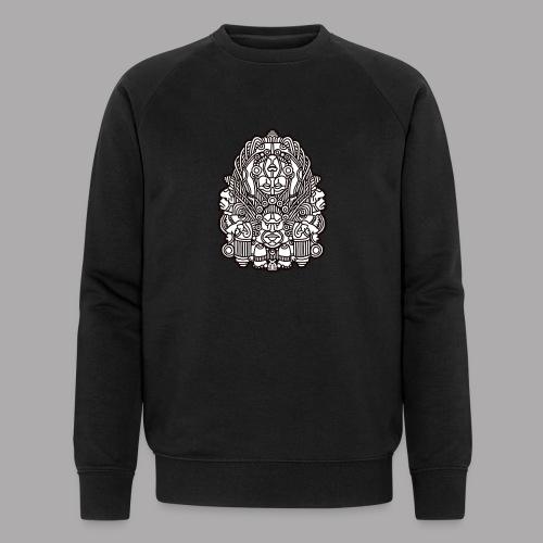 connected black - Men's Organic Sweatshirt by Stanley & Stella