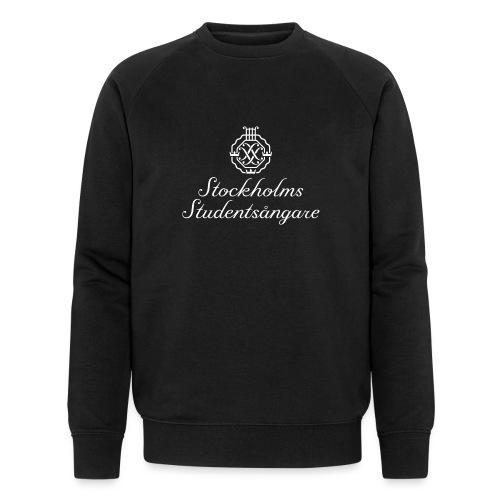 SSSF logo / emblem + namn (vit) - Ekologisk sweatshirt herr från Stanley & Stella