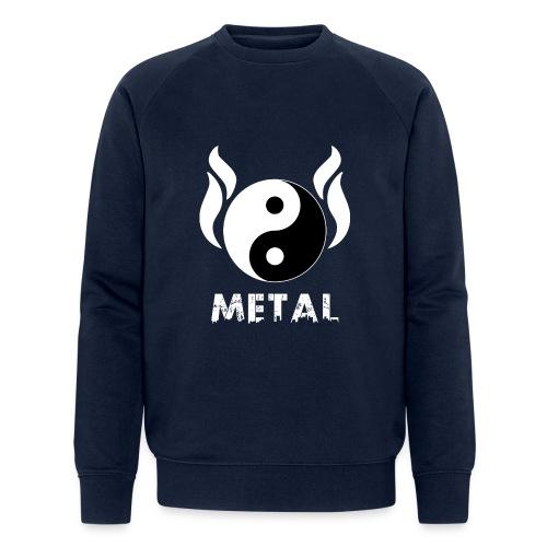 YIN YANG METAL - Männer Bio-Sweatshirt von Stanley & Stella