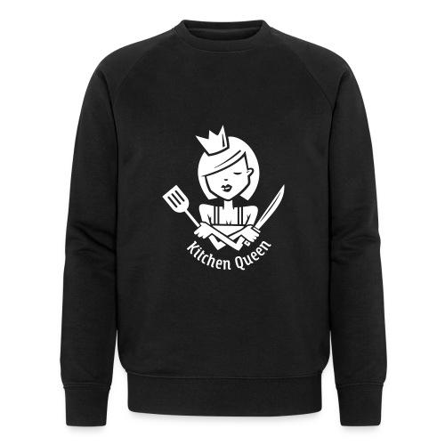 VL126_KitchenQueen_1c_inv - Männer Bio-Sweatshirt von Stanley & Stella
