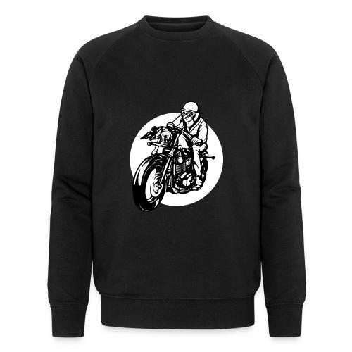 Motorradfahrer - Men's Organic Sweatshirt by Stanley & Stella