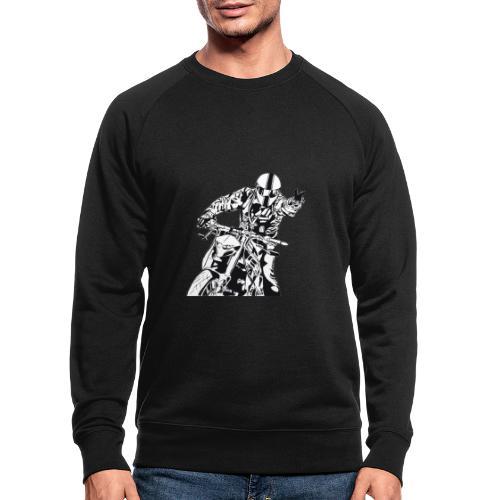 Streetfighter - Männer Bio-Sweatshirt