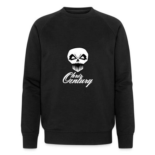 logo Chris Century blanc - Sweat-shirt bio Stanley & Stella Homme