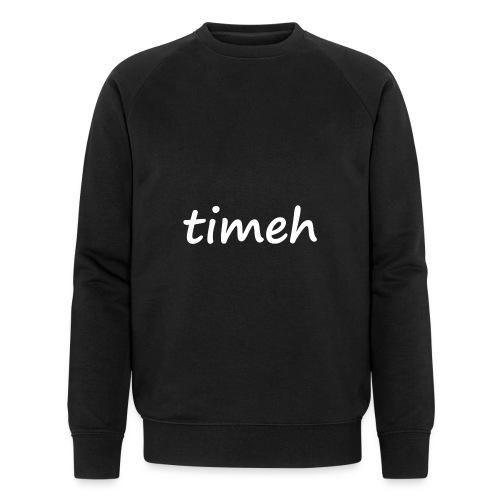 timeh sweater - Mannen bio sweatshirt