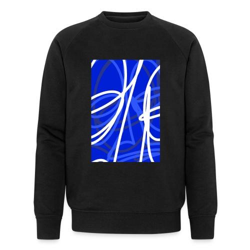FRTZNABSTRCTN Blau (#176) - Männer Bio-Sweatshirt von Stanley & Stella