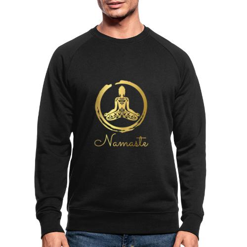 Namaste Meditation Yoga Sport Fashion - Männer Bio-Sweatshirt