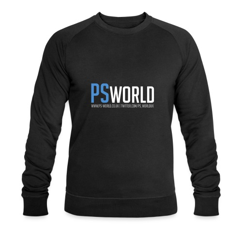 PS-World Logo - Men's Organic Sweatshirt by Stanley & Stella