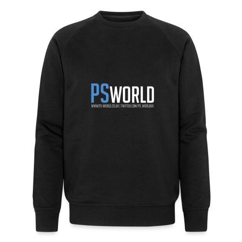 PS-World Logo - Men's Organic Sweatshirt