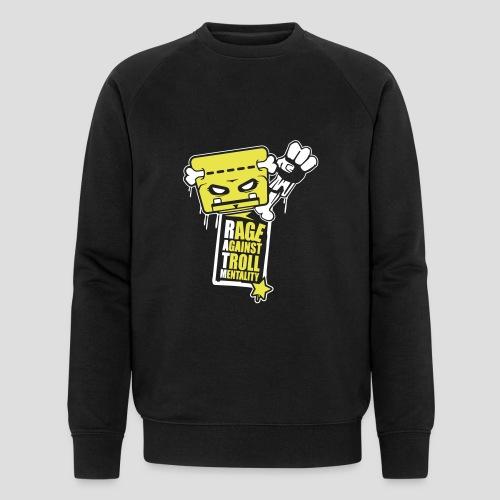Rage against Trolls - Sweat-shirt bio Stanley & Stella Homme