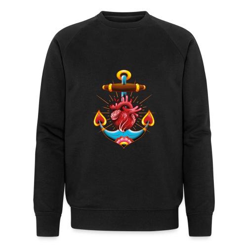 Sailor's Heart - Tattoo design - Sweat-shirt bio Stanley & Stella Homme