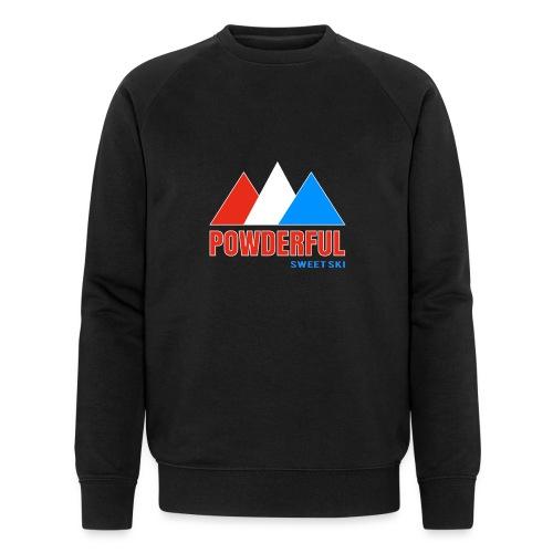 Powderful Sweet Ski - Männer Bio-Sweatshirt von Stanley & Stella