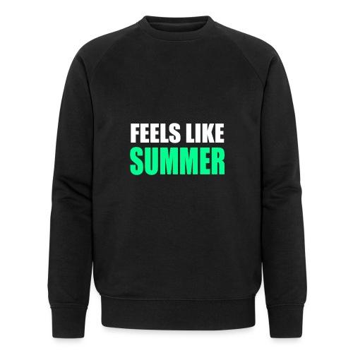 Feels like summer - Männer Bio-Sweatshirt von Stanley & Stella