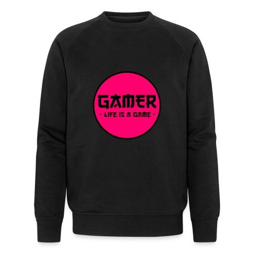 Gamer Life is a Game - Männer Bio-Sweatshirt von Stanley & Stella