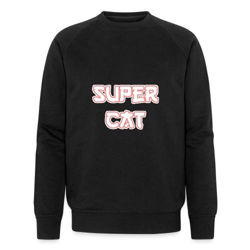Super Cat - Männer Bio-Sweatshirt von Stanley & Stella
