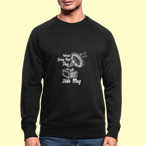 Lindy Hop Day Swing Dancing Vintage Geschenk - Männer Bio-Sweatshirt