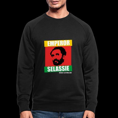 EMPORER SELASSIE red gold green - Männer Bio-Sweatshirt