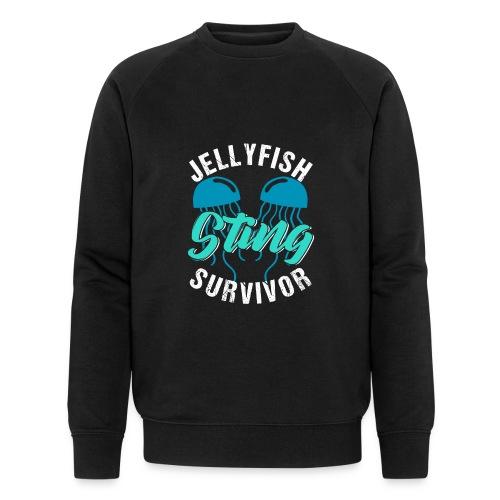 Jellyfish Sting Survivor - Männer Bio-Sweatshirt von Stanley & Stella