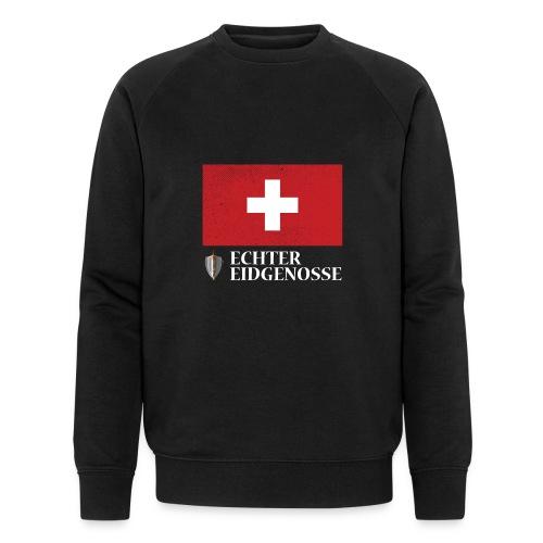Echter Eidgenosse Schweiz - Männer Bio-Sweatshirt